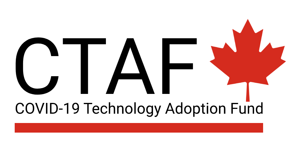 COVID-19 Technology Adoption Fund Logo